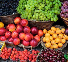 Mediterranean Fruits by Inge Johnsson