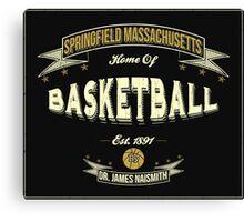 Vintage Basketball Canvas Print