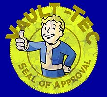 Vault-Tec Seal of Approval - Deteriorated  by CheekySherwin
