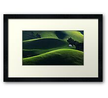 Light and Shade - Gippsland Framed Print