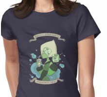 Gem Drinks: Soda with Peridot Womens Fitted T-Shirt