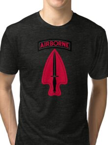United States Army Special Operations Command Tri-blend T-Shirt