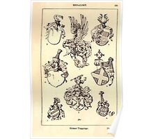 A Handbook Of Ornament With Three Hundred Plates Franz Sales Meyer 1896 0537 Heraldry Helmet Trappings Poster