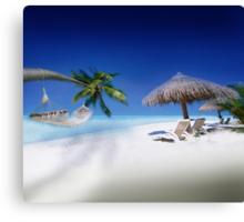 Exotic Holiday Destination  Canvas Print