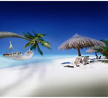 Exotic Holiday Destination  Photographic Print