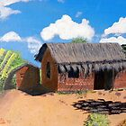 Pastors Rectory in Chimuavi Mozambique by Pieta Pieterse