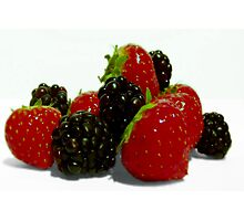 Sweet Summer Berries. Photographic Print