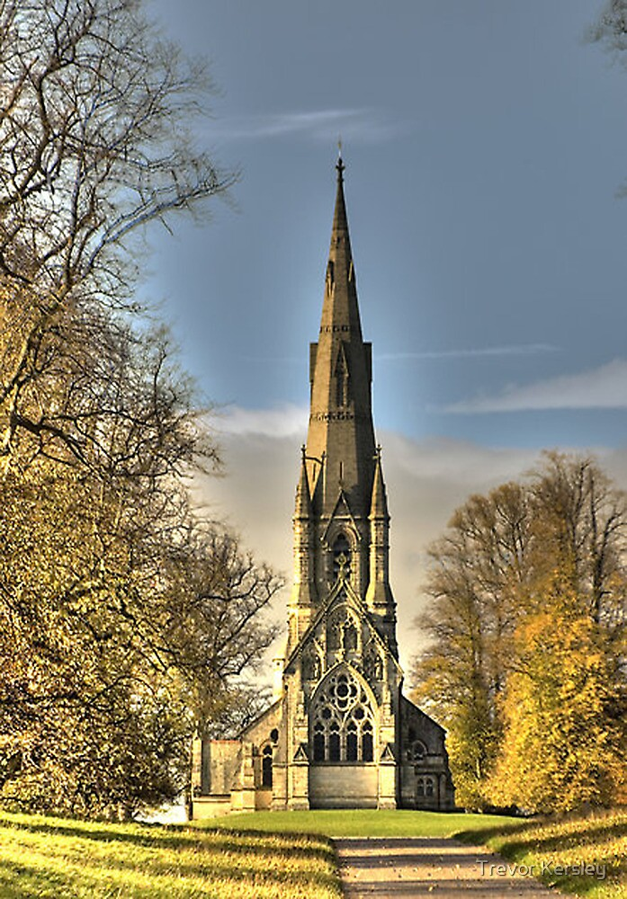 St Mary's Church - Studley Royal by Trevor Kersley
