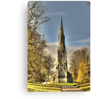St Mary's Church - Studley Royal Canvas Print