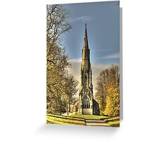 St Mary's Church - Studley Royal Greeting Card