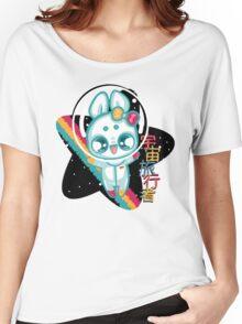 Moon Bunnies: Space Traveller Women's Relaxed Fit T-Shirt