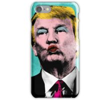 Trump Warhol iPhone Case/Skin