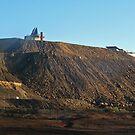 Slag Heap on the Line of Load.... Broken Hill by Juilee  Pryor
