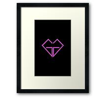 Girls' Generation SNSD So Nyeo Shi Dae Mr Mr Logo 4 Framed Print