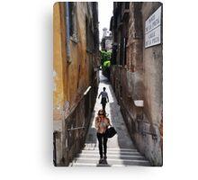 Walk on by Canvas Print