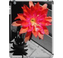 Cactus Flower At High Noon iPad Case/Skin