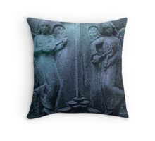 Angels Of Harmony Throw Pillow