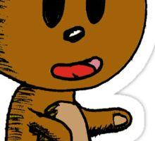 Cuddly Bear Sticker