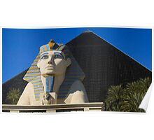 The Luxor Casino Hotel Poster