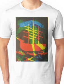 The Pequod #2 (from Meditations on Moby Dick) Unisex T-Shirt