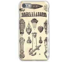 A Handbook Of Ornament With Three Hundred Plates Franz Sales Meyer 1896 0514 Jewelry Miscellaneous iPhone Case/Skin