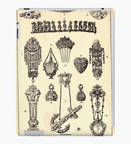 A Handbook Of Ornament With Three Hundred Plates Franz Sales Meyer 1896 0514 Jewelry Miscellaneous iPad Case/Skin