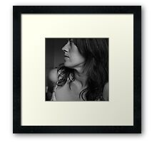 And She Was Framed Print