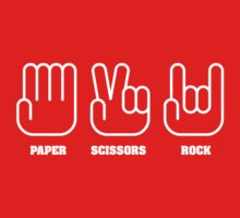 Paper Scissors ROCK Kids Clothes