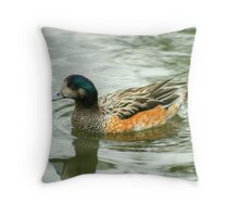Chiloe Widgeon Throw Pillow