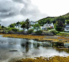 Kyleakin - Isle of Skye  by Lilian Marshall