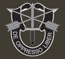 Special Forces - insignia (United States Army) by wordwidesymbols