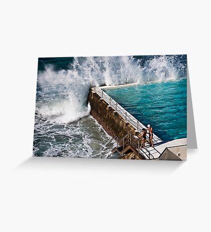 Bondi Beach Splash Greeting Card