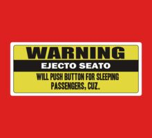 Warning - ejecto seato 2 One Piece - Short Sleeve