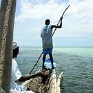 Kenya - Fishing. by Jean-Luc Rollier