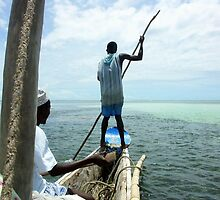Kenya - Fishing. by Jean-Luc Rollier