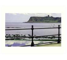 Scalby Mill to Scarborough Art Print