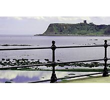 Scalby Mill to Scarborough Photographic Print
