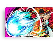 Ryu | Hadoken Canvas Print