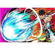 Ryu | Hadoken Photographic Print