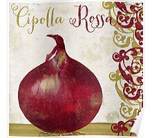 Cucina Italiana Cipolla Onion Poster