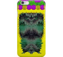 Fantasy island on clouds,involved is a mermaid iPhone Case/Skin