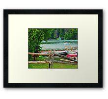 Mont Tremblant Framed Print