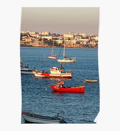 Barca Rossa Poster