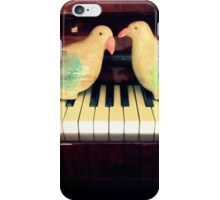 pigeons playing iPhone Case/Skin