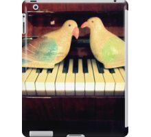 pigeons playing iPad Case/Skin