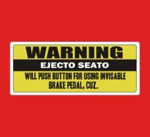 Warning - ejecto seato 5 Kids Tee