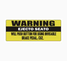 Warning - ejecto seato 5 One Piece - Short Sleeve