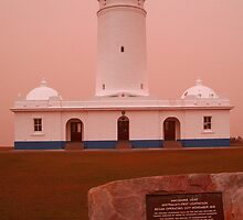 The 2009 Sydney Dust Storm / Maquarie Lighthouse View by Raoul Isidro