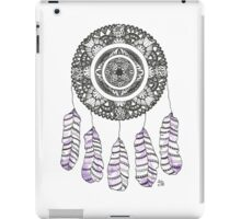 Watercolor and Ink dreamcatcher iPad Case/Skin