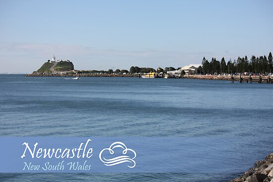 Newcastle Harbour Foreshore by reflector